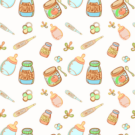 The seamless pattern of