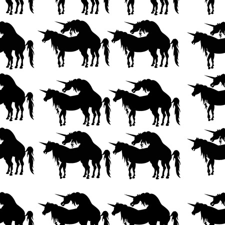 The Vector image and seamless pattern