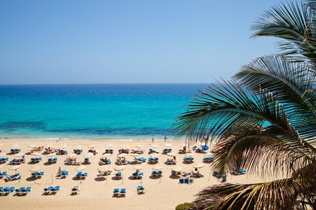 Playa del Matorral, Fuerteventura, Kanaren, Spanien