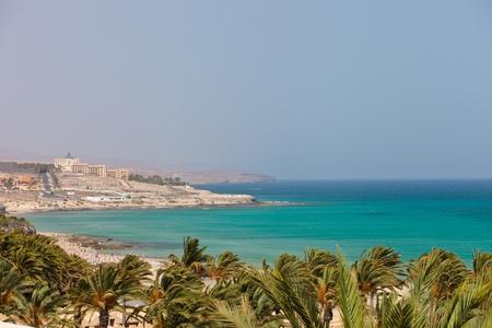 Playa Barca, Costa Calma, Fuerteventura, Canary Islands, Spain Stock Photo