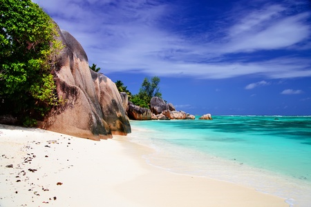 anse: Beautiful rocks at Anse Source dArgent, Seychelles