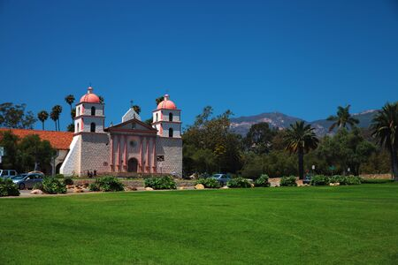 barbara: The historic Santa Barbara Mission in California