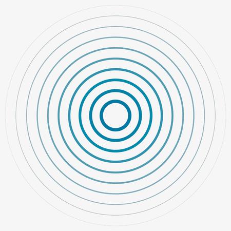 strip club: Sound wave background. Radio station signal, vector illustration.