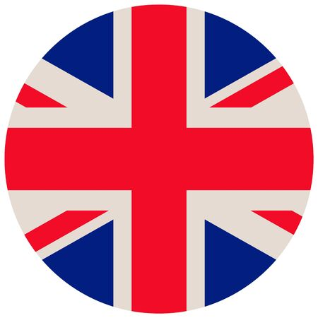 UK of Great Britain flag, official colors and proportion correctly. National UK of Great Britain flag vector illustration.