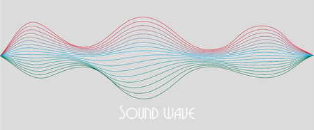 motion sound wave abstract vector background. Illustration