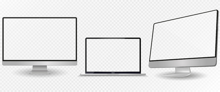 Vector set of Modern Digital devices Illustration
