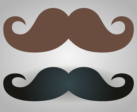 Italy mustache icon. Simple illustration of italy mustache vector icon for web.