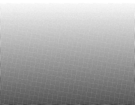 Points Dots Background. Black and White Monochrome Overlay. Abstract Texture. Grunge Pop-art Backdrop. Vector illustration