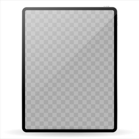 Vector computer tablet Ilustrace