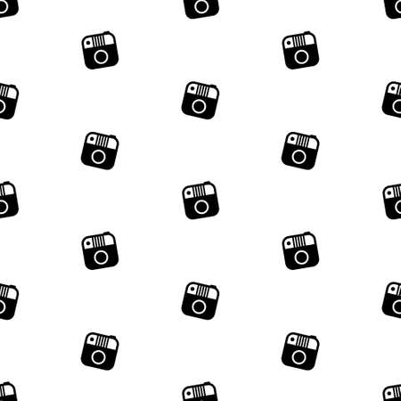 Photo camera seamless pattern 写真素材 - 151017180
