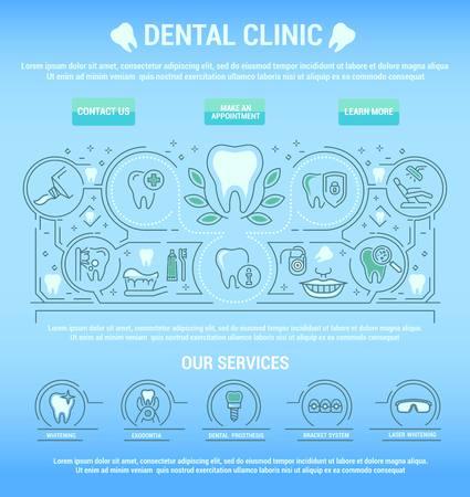Vector flat graphic icon, line, contour, thin design. Dental, dentist. Element, emblem, symbol. Disease, care, symptoms, diagnostics, dental treatment. Prosthetics, teeth whitening, removal. Web site. Illustration