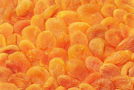 Background of sweet dried apricots  photo