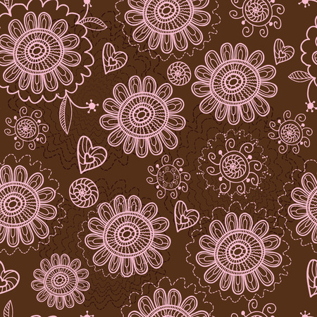 Floral seamless pattern Stock Vector - 8814379