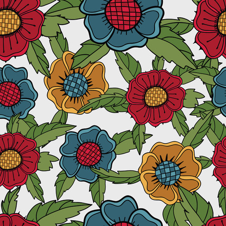 Floral seamless pattern Stock Vector - 8814377