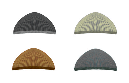 woolen: Knitted woolen cap. Winter seasonal hat.