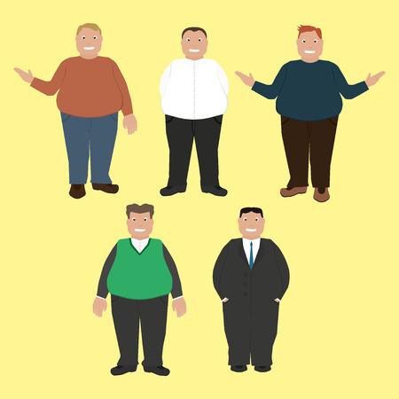 portly: Fat men