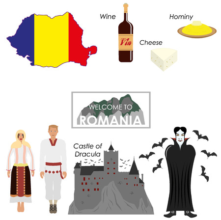 Roemenië infographics