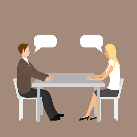 Human resource manager interviewed the applicant