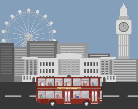 decker: Double decker in London