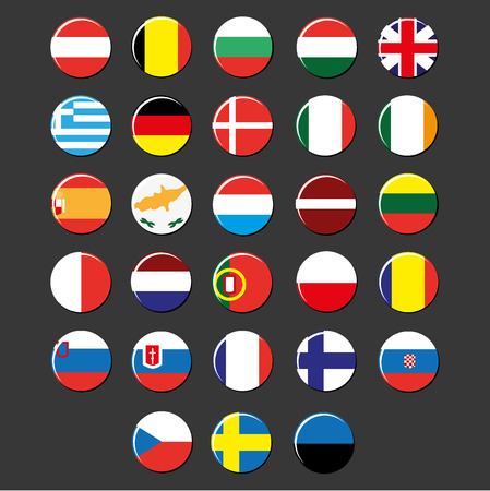 country: European Union country badges