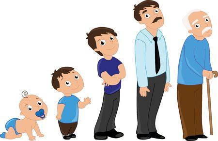 �infant: Hombre de edad desde ni�os hasta personas mayores. Beb�, ni�o, adolescente, estudiante, hombre adulto y hombre mayor.