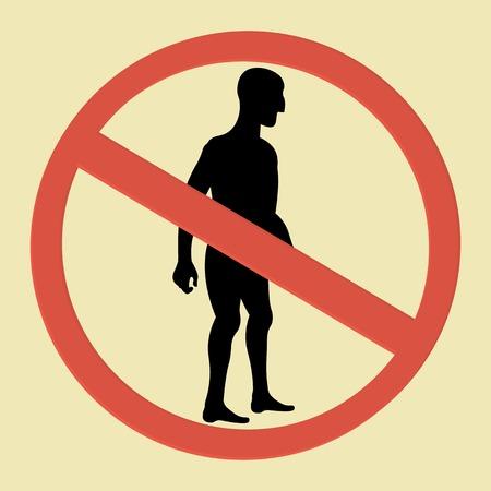 no correr: establece ninguna se�al de entrada humana. Ning�n hombre, ning�n hombre y ninguna carrera a pie cantar.