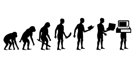 Human evolution: from monkey to cyborg