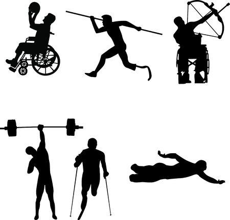 disable: Disable Handicap Sport silhouette