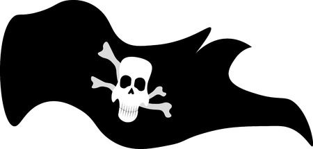 roger: Jolly Roger pirate flag icon