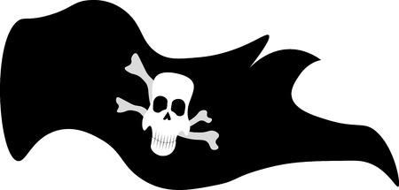 mercenary: Jolly Roger pirate flag icon