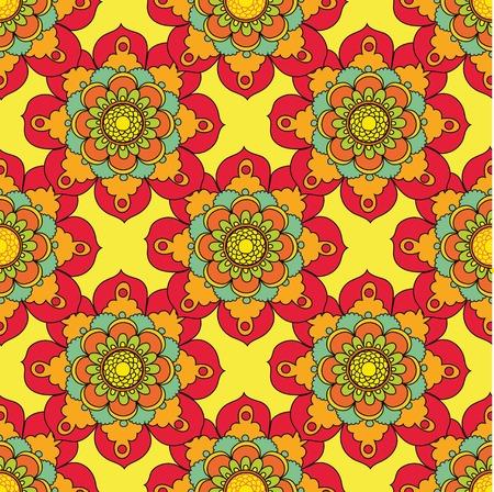 backgroud: Seamless abstract flower backgroud