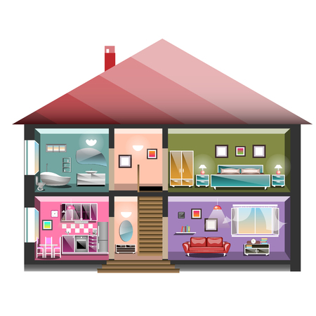 House in cut.