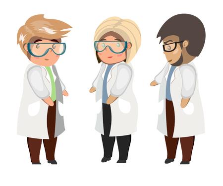 Medical team concept illustration.