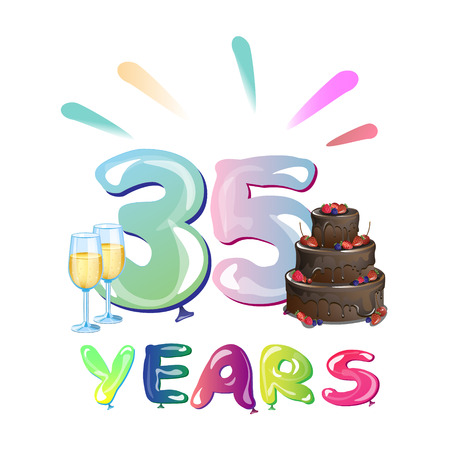 Happy Birthday thirty five year.