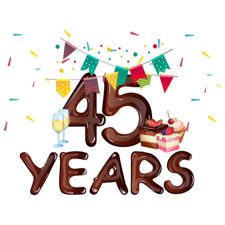 45 Years Anniversary celebration