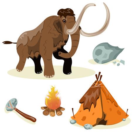 Ausgestorbene Spezies. Evolution. Jagd. Standard-Bild - 85649077