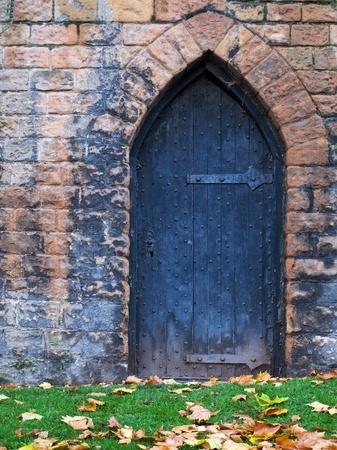 Old castle door  Stock Photo - 8905648