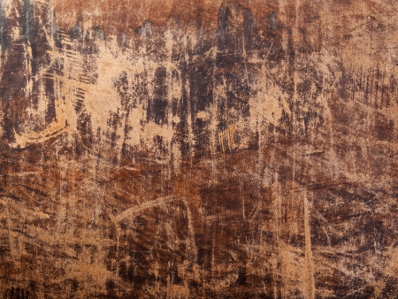 Brown old leather texture. Design background photo