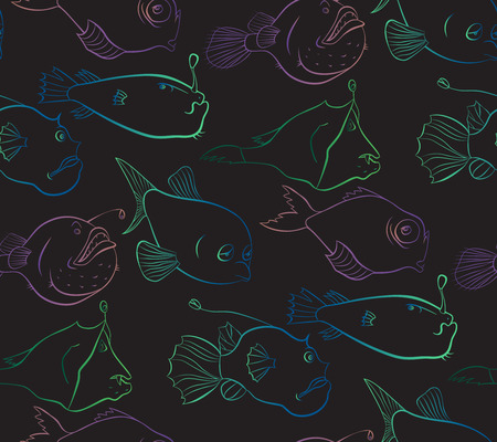 Bright and mysterious world of deep-water fishes.