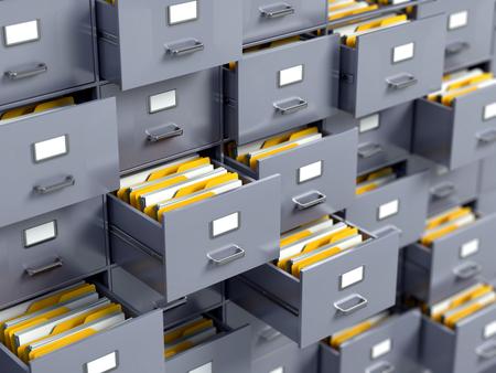 file cabinet: Archivo contenedor