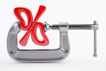Discount percentage concept
