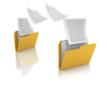 Copying files between folders
