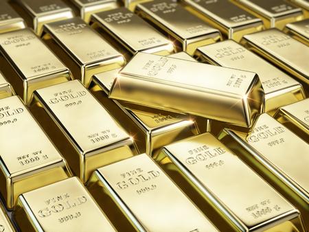 fine gold: Fine gold bars