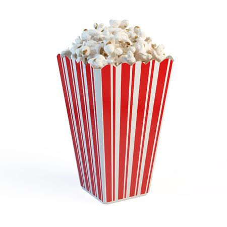 Boîte de pop-corn Banque d'images - 51245116