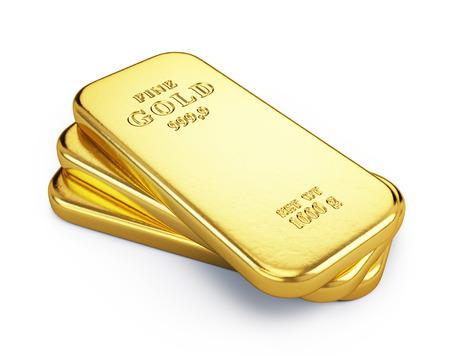 Gold bars Banque d'images