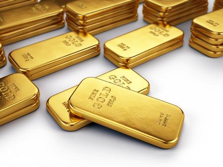 Gold bars 写真素材