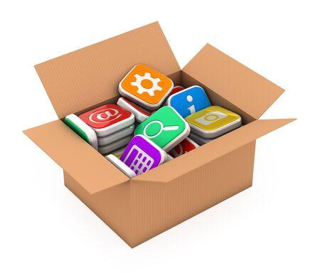 storage: Concept application software storage