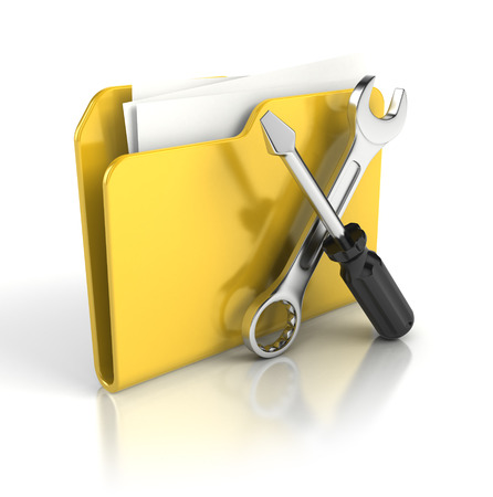 dir: Tools and settings icon Stock Photo