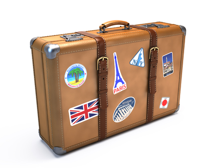 vintage travel: Vintage suitcase