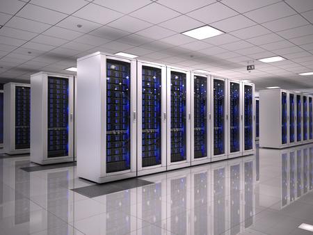 Server room Foto de archivo